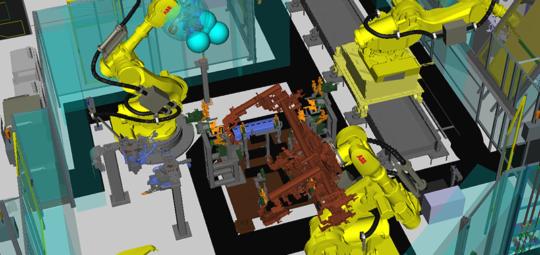 Robotersimulation